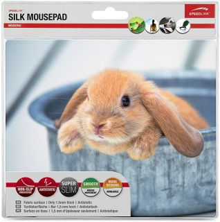 SPEEDLINK SL 6242 SILK MOUSEPAD MAUSPAD Hase Rabbit