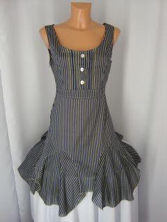 FRANSTYLE Baumwolle Tunika Kleid,Zipfeln ver.Farben Gr:36,38,40,42,44