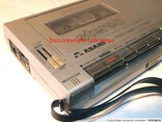def. Cassettenrecorder Crowncorder Solid State + Asabi PD 562 Stereo