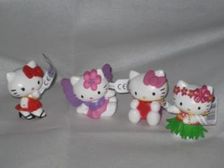 4er Set Hello Kitty FigurenAloha,Engel,Valentin,Filmstar  von