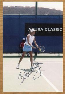 Elena Bovina / Jelena Bowina (RUS) Tennis signiertes Foto Autogramm