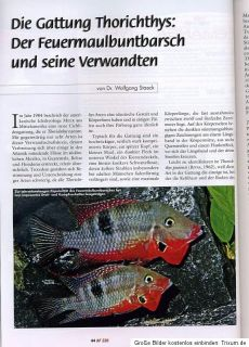 Aquaristik Fachmagazin   Nr. 226 Aug. / Sept. 2012