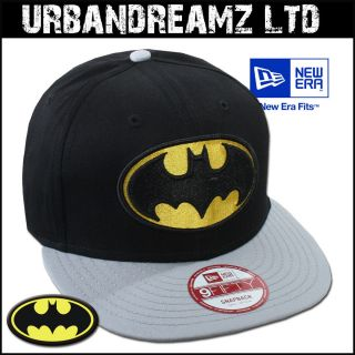SNAPBACK CAP BAMAN REVERSE HERO OFFICIAL EAM DC COMICS #869