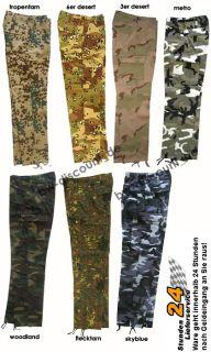 US Pant Hose woodland metro camouflage XS   XXL Cargo