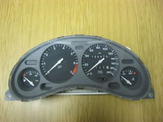 Tacho Kombiinstrument Opel Tigra 09113234MC K 16676
