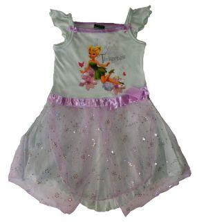 Mädchen Kleid grün Disney´sTinkerbell Gr. 92 #872#