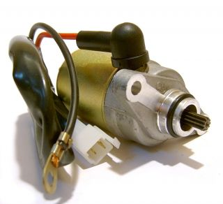 ANLASSER E STARTER MOTOR 4T CHINA ROLLER CHINA ROLLER 50 SCOOTER GY6