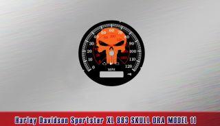 Harley Davidson Sportster XL 883 tacho XL883 tachoscheiben Speedo