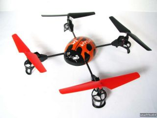 3D UFO/Quadrocopter Beetle mit 2,4GHz Steuerung, Loopings, 4 Flug