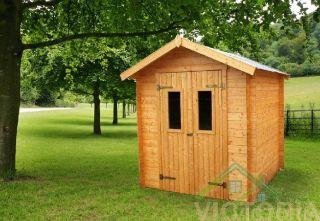 Gartenhaus aus Holz, Tessa 19mm 2000x2000 Gerätehaus