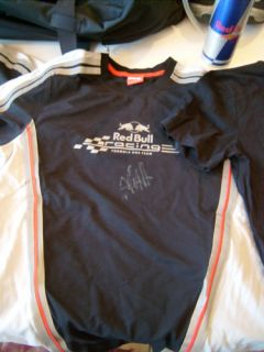 REDBULL Vettel Cap Schuhe Tshirt Autogramm ORIGINAL NEU