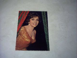 Starpostkarte Gina Lollobrigida (Krüger 902/55)