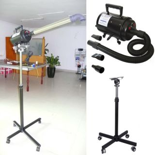 2800W TOP Hundefön & Hunde–Flüsterfö n/Pet DOG Dryer + Stand
