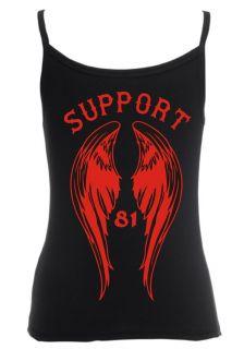 894 Support 81 World Lady Damen Träger Shirt Tank Top Größe XS   XL