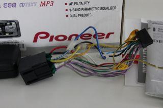 PIONEER DEH P3500MP Autoradio RADIO  CD RDS 4x50W OVP