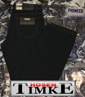 PIONEER Jeans RANDO 1680 blue black W46 W50 STRETCH