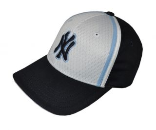 New Era   NY Yankees Youth Black + White Baseball Cap / Hat (AC904