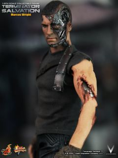 Terminator Salvation Hot Toys Marcus Wright 12 30cm