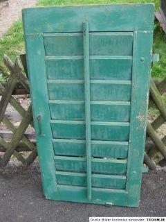einzelner Fensterladen / Jalosie   gebraucht   aus Holz   grün
