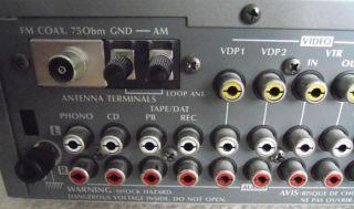 Denon DRA 210 AM FM Stereo Receiver Verstärker Silber/Silver 140 Watt