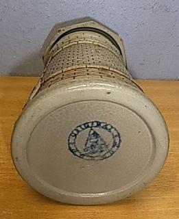 Vintage German Nuremberg Tower Lidded Beer Stein #AR