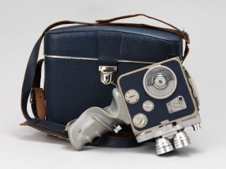 Vintage Eumig Movie camera outfit, eumig C3 m camera and case with