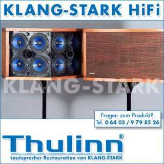 Thulinn BOSE 901 Lautsprecher Nussbaum u Equalizer BOSE 901 VI ver 2
