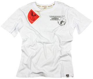 YAKUZA T Shirt YS 902 weiß white GrößeXL Herren Shirt Männer