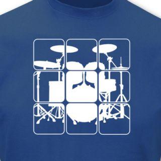 Shirt Schlagzeug T Shirts Retro Sols 8 Farben S   5XL