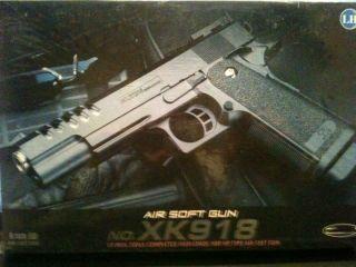 Kugelpistole No.XK918, 22cm max. 0,5Joule + extra 200 Kugeln GRATIS