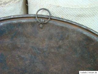 Nr.C7574 Altes Backblech / Backbrett aus Metall um 1910 Durchmesser 56