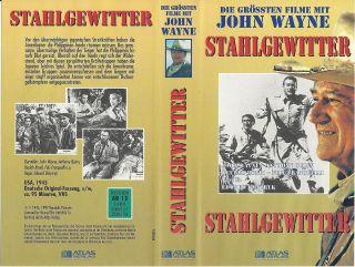VHS) Stahlgewitter   John Wayne, Anthony Quinn (1945)