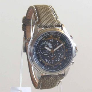 Citizen Eco Drive Chronograph Cal.H570 AT1150 49E NEU