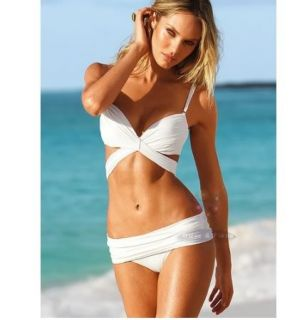 Womens Sexy Swimsuit Bohemian Swallow tail Tankini Bikini Set Bathing
