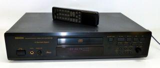 DENON DCD 685 Spitzenklasse CD Player in schwarz mit FB (936)