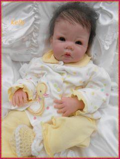 Mony´s kleines, süßes Rebornbaby  Kelly  Luca von Elly Knoops