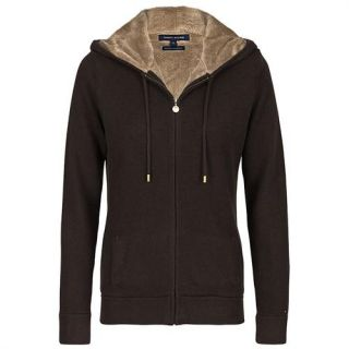 tommy hilfiger damen hoody kashmir strickjacke kapuzenjacke coleen. Black Bedroom Furniture Sets. Home Design Ideas