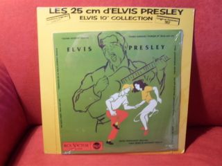 Elvis Presley Les 25 cm 10 Chili 57 F Rock & Roll OVP
