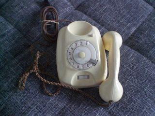 Altes Telefon Siemens Fg54/5025b elfenbeinfarbig seltene Ausführung