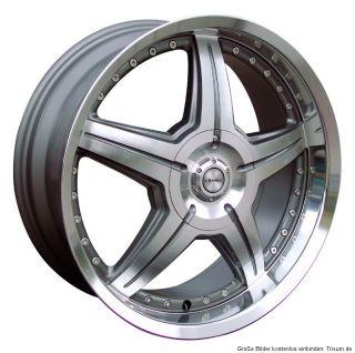 LENSO CX Hyper Silver   Mirror Lip Polish Einteilig Neu 8X19 Audi VW