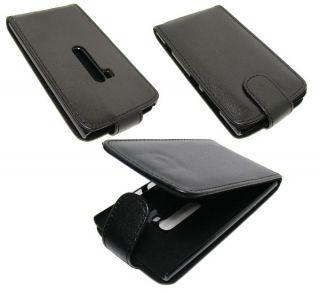 Tasche + Schutzfolie für Nokia Lumia 920 Flip Case Schutz Hülle