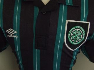 Trikot Celtic Glasgow 1993/94 (L) Umbro Away St Pauli Shirt Maglia
