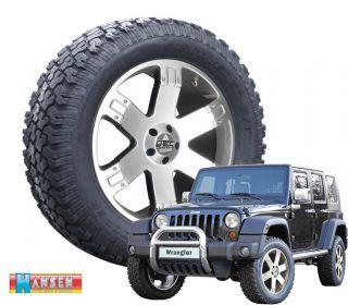 4x Kompletträder 9x20 + 275/60R20 Cooper Jeep Wrangler JK 2007 12