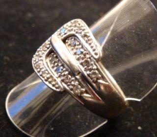 Wunderschöner Ring 925er Silber mit dem Design einer Gürtelschnalle