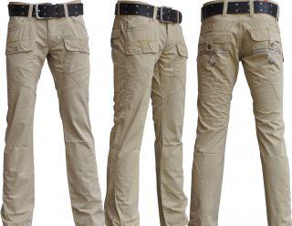 CIPO & BAXX ORGINAL Chino Beige HOSE alle Größen Cipo Jeans