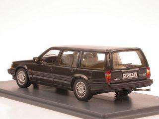Volvo 940 GLE Turbo Kombi grau Modellauto Neo 143