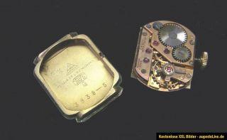 Damenuhr OMEGA 80 J. alt Armbanduhr 244 Damen Uhr (gold) mechanische