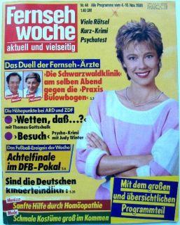 Alte Zeitung 1989 Fernsehwoche Fernsehzeitung Paul McCartney Peter