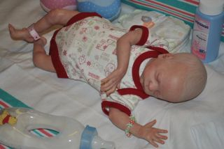 RIHANNA Reborn Baby Doll Kit RYAN by Natalie Scholl
