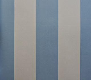 Kinder Tapete Dandino 947 2 Streifen blau weiß 3,56€/m²